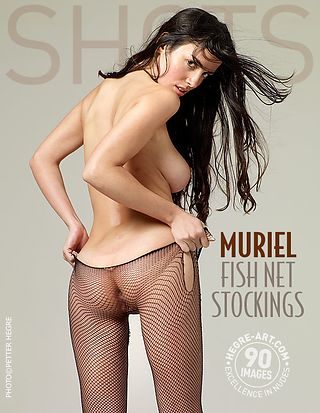 Muriel fish net stockings