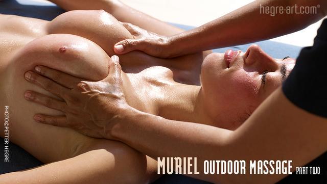 Muriel masaje al aire libre parte2
