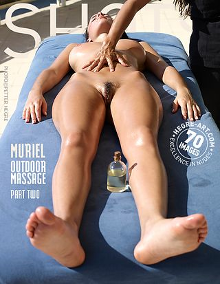 Muriel Outdoor massage part2
