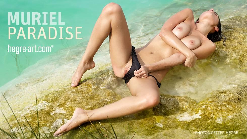 naked slut takes off panties