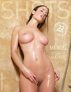 Muriel sensual shower