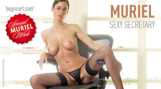 Muriel sexy secretary