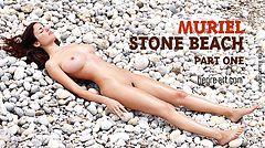Muriel playa de piedra parte1