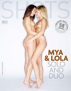 Mya et Lola solo et duo