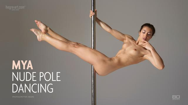 Mya Akt Pole Dancing