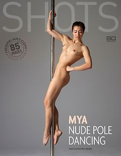Mya nude pole dancing