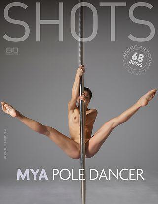 Mya pole dancer