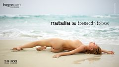 Natalia A beach bliss