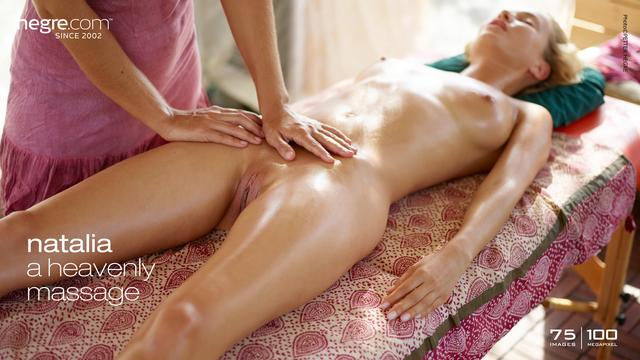 Natalia A heavenly massage