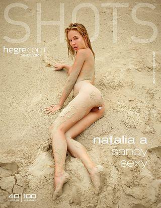 Natalia A sexy sablonneuse