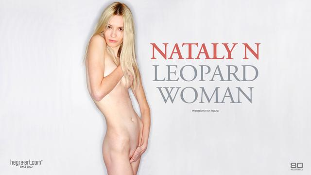 Nataly N Leopard woman