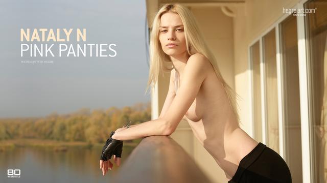 Nataly N pink panties
