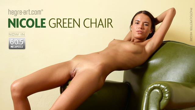 Nicole green chair