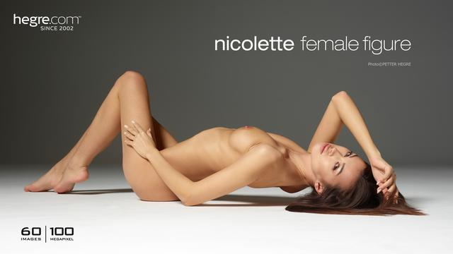 Nicolette female figure