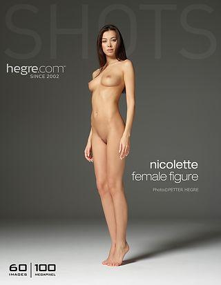 Nicolette female figure