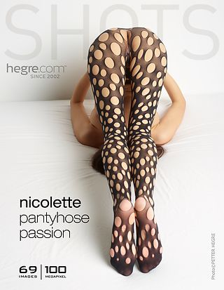Nicolette pantyhose passion