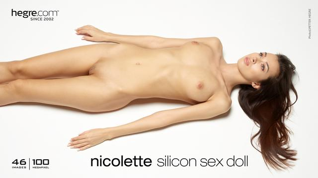 Nicolette silicon sex doll