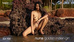 Nuna nana indienne en or