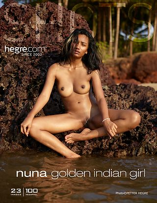 Nuna golden Indian girl