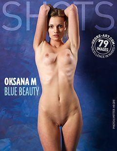 Oksana M. blue beauty