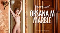 Oksana M. marble