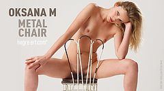 Oksana M. metal chair
