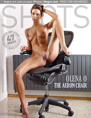 Olena O the aeron chair