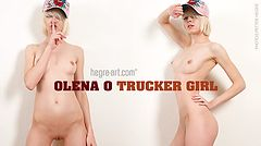 Olena O. trucker girl