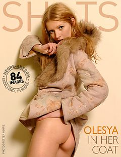 Olesya in her coat