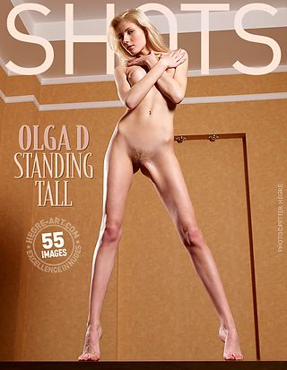 Olga D. standing tall