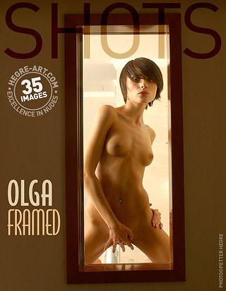 Olga enmarcada