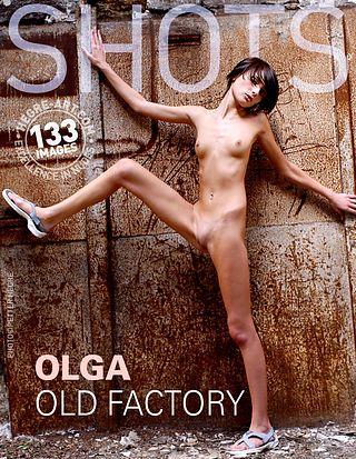 Olga in old factory