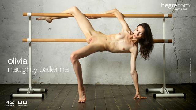 Olivia naughty ballerina