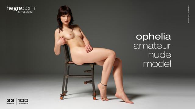 Ophelia amateur modèle nu