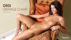 Orsi silla anaranjada