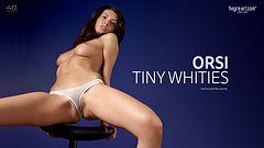Orsi braguitas blancas