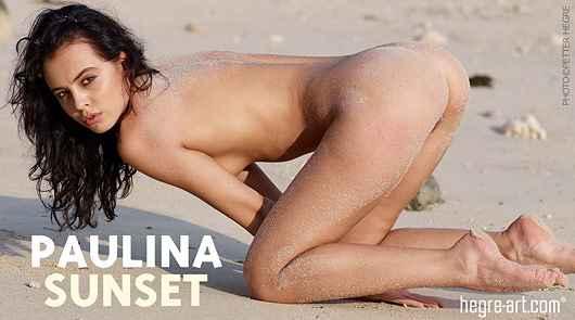 Paulina sunset