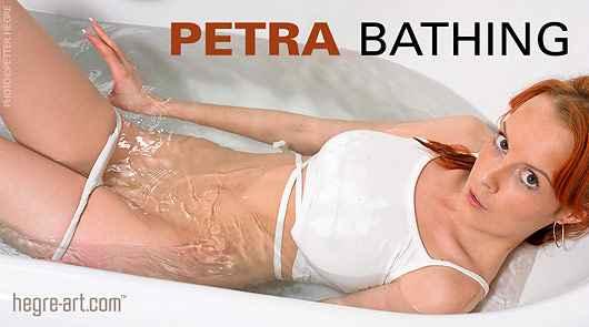 Petra bathing