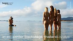 Petter backstage Thailand by Ally
