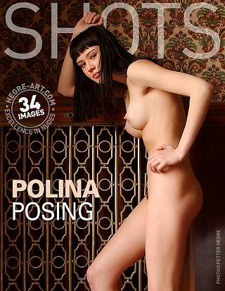 Polina posing