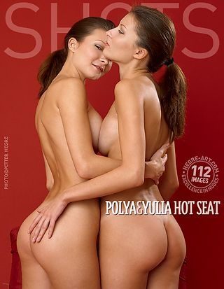 Polya and Yulia hot seat