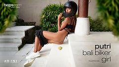 Putri Bali biker girl