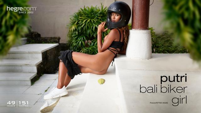 Putri Balinesisches Bikergirl