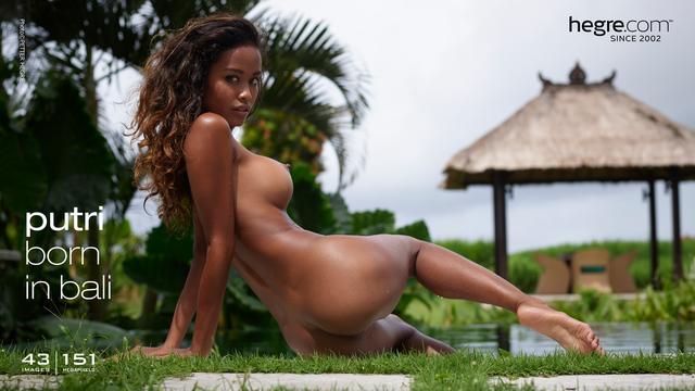 Putri née à Bali