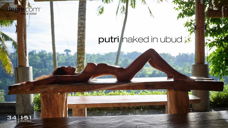 Putri naked in Ubud
