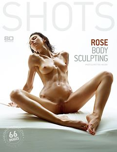 Rose sculpture corporelle