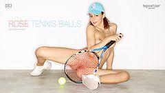 Rose Tennis balls