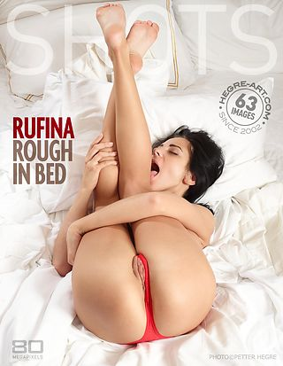 Rufina rough in bed