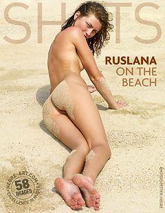 Ruslana on the beach