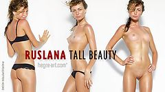 Ruslana tall beauty